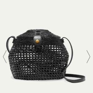 Faithfull the Brand Paloma Woven Basket Bag